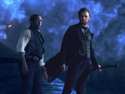 'Lincoln' cast think it's a silly premise too