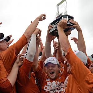 Texas Wins Big 12 Baseball Championship