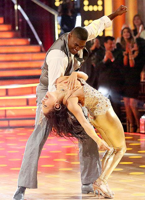 Keyshawn Johnson Eliminated First on Dancing With the Stars