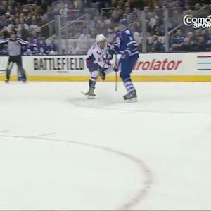 Alex Ovechkin blows one past James Reimer