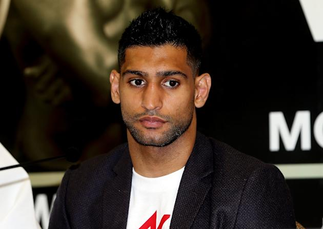 Amir Khan Press Conference