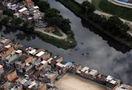 Aerial view of the polluted Surui river estuary on June 5 in Rio de Janeiro, Brazil. Kicking off the so-called Rio+20 summit, Dilma Rousseff, president of host nation Brazil, called on &quot;all countries of the world to commit&quot; to reaching an accord that addresses the most pressing environmental and social woes