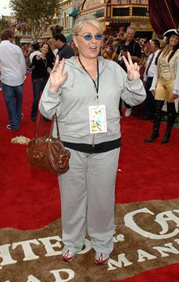 Roseanne Barr at the Disneyland premiere of Walt Disney Pictures' Pirates of the Caribbean: Dead Man's Chest