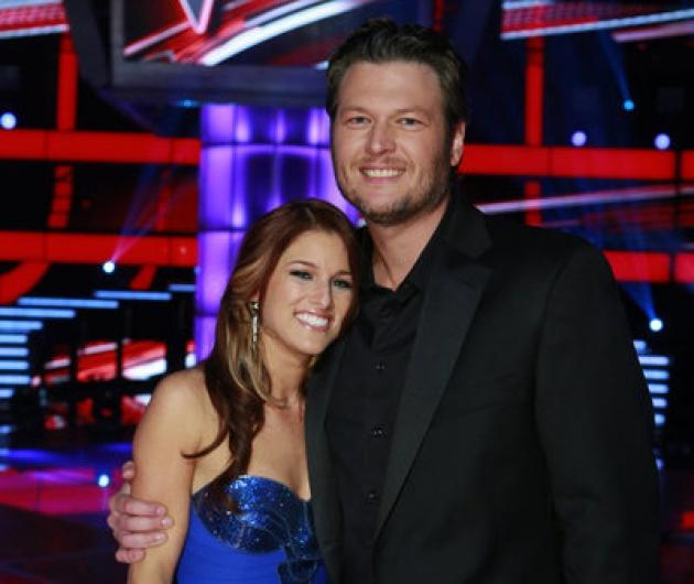 Cassadee Pope and Blake Shelton on 'The Voice' Season 3 finale -- NBC