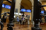 &lt;p&gt;Traders talk next to the IBEX-35 index billboard at Madrid&#39;s stock exchange. Despite making progress, the eurozone debt crisis remains unsolved and, in a repeat of last summer, could still bring nasty surprises to global stock markets in July and August, analysts said.&lt;/p&gt;
