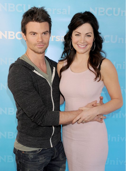 Daniel Gillies and Erica Durance
