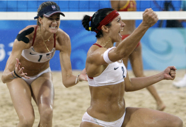 Misty May-Treanor and Kerri Walsh