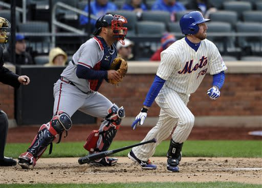 Minor leads Braves over Mets for 8th win in row