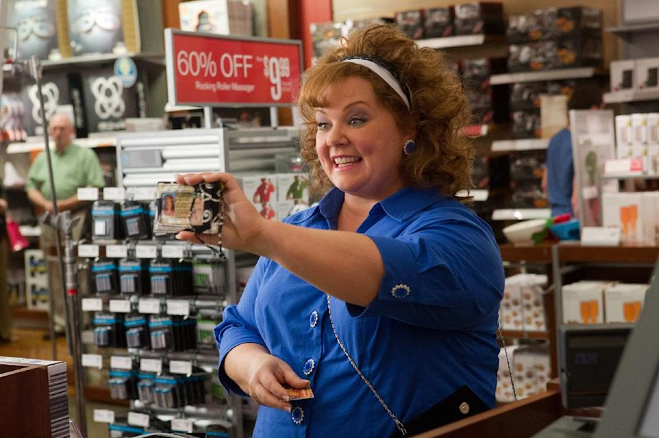"This undated publicity image released by Universal Pictures shows Melissa McCarthy in a scene from, ""Identity Thief."" (AP Photo/Universal Pictures)"