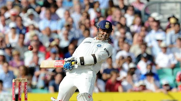 Shikhar Dhawan will open the batting for India in place of Virender Sehwag, pictured, in the third Test against Australia