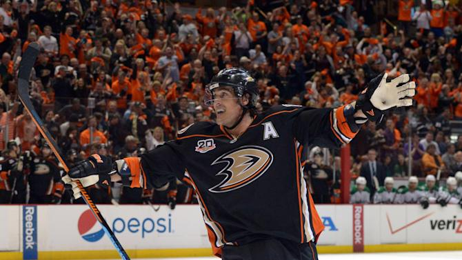 NHL: Stanley Cup Playoffs-Dallas Stars at Anaheim Ducks