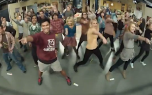 So, Here's That 'Big Bang Theory' Flashmob You Wanted