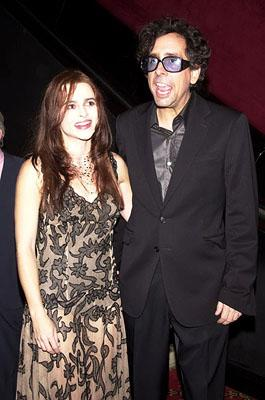 Helena Bonham Carter and Tim Burton at the New York premiere of 20th Century Fox's Planet Of The Apes
