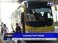 Some passengers are still having difficulty adjusting to the bus ban in Manila. They say, commuting now takes more time and money.