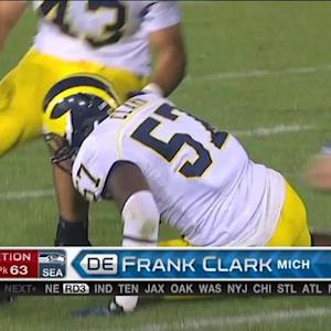 Seattle Seahawks pick Michigan defensive end Frank Clark No. 63 in 2015 NFL Draft