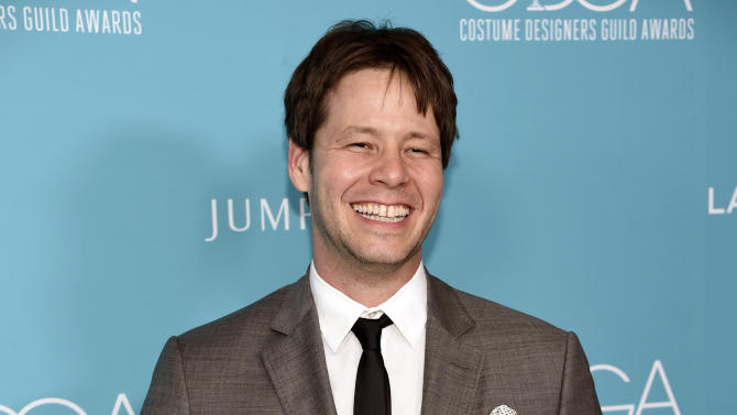 """FILE - In this Feb. 17, 2015 file photo, Ike Barinholtz arrives at the 17th Costume Designers Guild Awards in Beverly Hills, Calif. Grand Central Publishing announced Monday, Aug. 3,  that it had acquired a collection of humorous essays by Barinholtz whose credits include """"The Mindy Project"""" and """"MADtv."""" The book, currently untitled, is scheduled for Fall 2017.  (Photo by Chris Pizzello/Invision/AP, File)"""