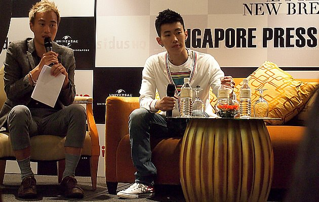 Jay Park at New Breed Press Conference 2012 / Yahoo! Photos / Elizabeth Soh