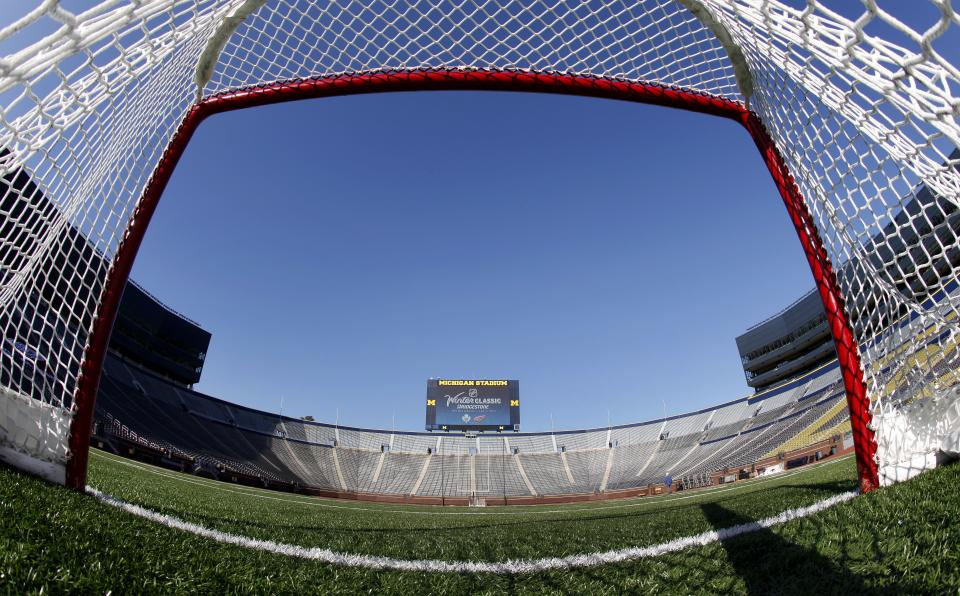 AP source: NHL cancels Winter Classic at Big House
