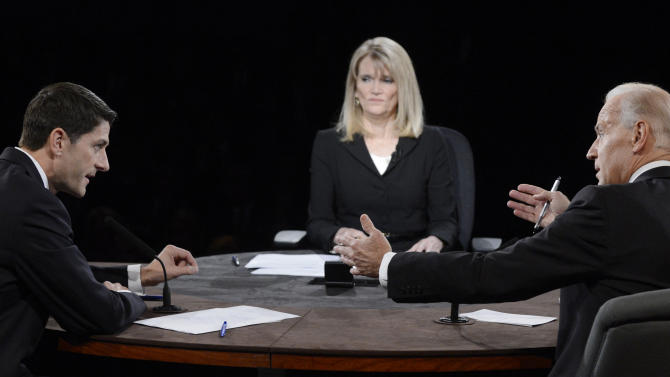 Forceful Raddatz draws praise as moderator