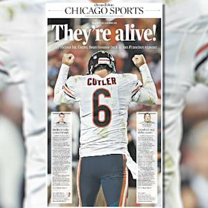 Chicago Bears comeback or San Francisco 49ers collapse?