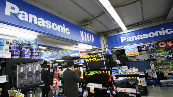Panasonic reports big loss but forecasts profit