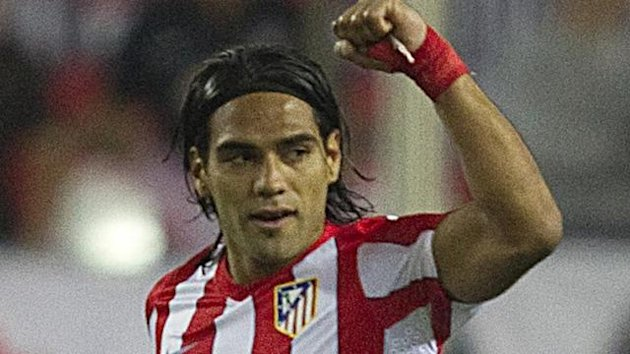 2011 FOOTBALL La Liga Atletico Madrid Radamel Falcao