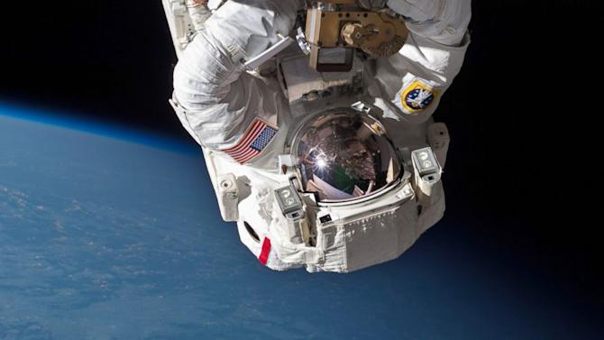 Water in Ageing Spacesuit Caused Problems for Astronaut