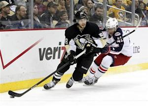 NHL: Columbus Blue Jackets at Pittsburgh Penguins