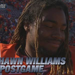 Virginia Tech RB Marshawn Williams Talks Win Over Western Michigan