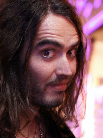 Russell Brand is sporting some new ink.