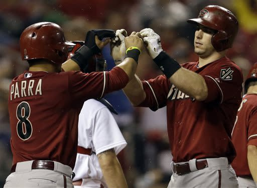 Goldschmidt hits slam, Diamondbacks top Cards