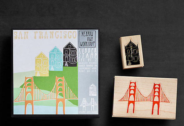 San Francisco Stamp Kit