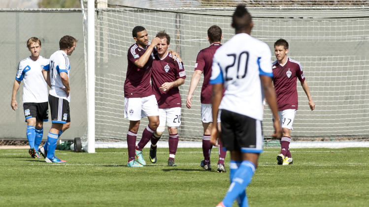 MLS: Preseason-San Jose Earthquakes vs Colorado Rapids