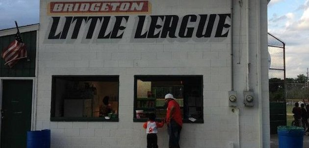 The Bridgeton Little League fields ... when not being terrorized by a groundhog — Facebook