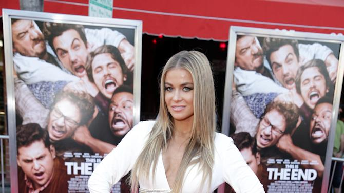 Carmen Electra at Columbia Pictures 'This is The End' Premiere on Monday, June, 3, 2013 in Los Angeles. (Photo by Eric Charbonneau/Invision for Columbia Pictures/AP Images)