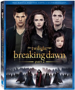 The Twilight Saga: Breaking Dawn - Part 2 Blu-ray Box Art