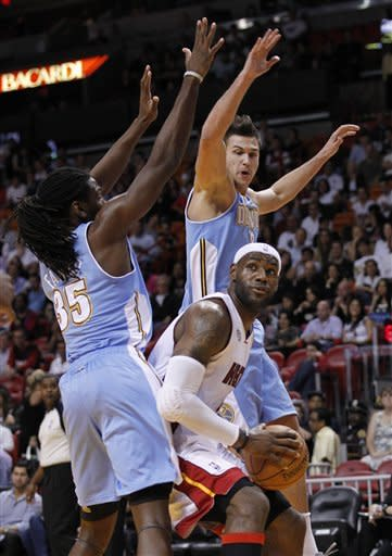 Allen's four-point play lifts Heat, 119-116