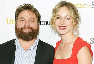Zach Galifianakis and Quinn …