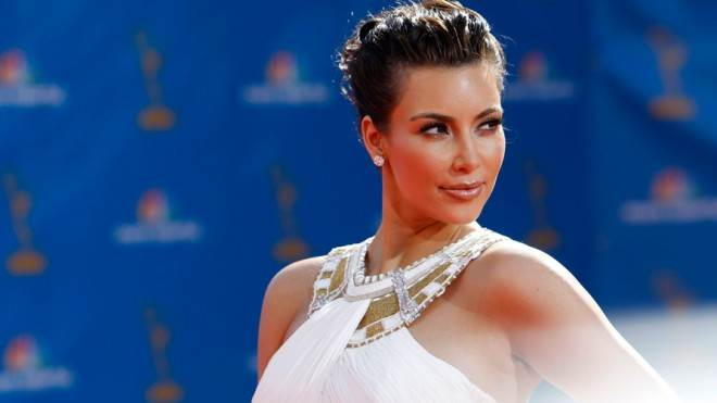 The closest Kim Kardashian gets to stone cutting is hemming her bejeweled gowns for the red carpet.