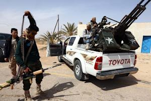 Forces loyal to Libya's Islamist-backed parliament …