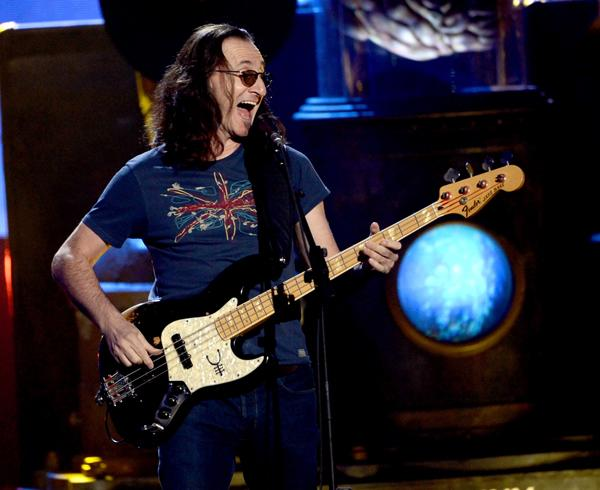 Rush (And Fans) Fight the Power at Rock and Roll Hall of Fame 2013 Induction