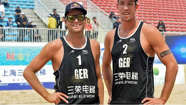 Beachvolleyball - Brink/Fuchs in Shanghai weiter