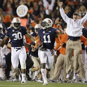 Alabama misses field goal, Auburn returns it for game-winning TD