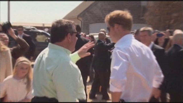 Prince Harry Tours New Jersey, New York
