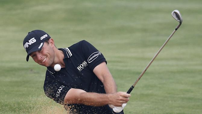 Guthrie opens 3-shot lead in first trip to China