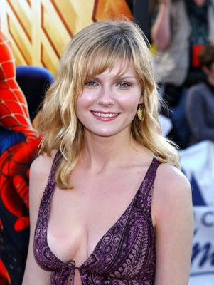 Kirsten Dunst at the LA premiere of Columbia Pictures' Spider-Man