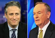 Jon Stewart, Bill O'Reilly | Photo Credits: Ethan Miller/Getty Images;  Slaven Vlasic/Getty Images