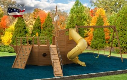 Carolina Playsets Pirate Ship