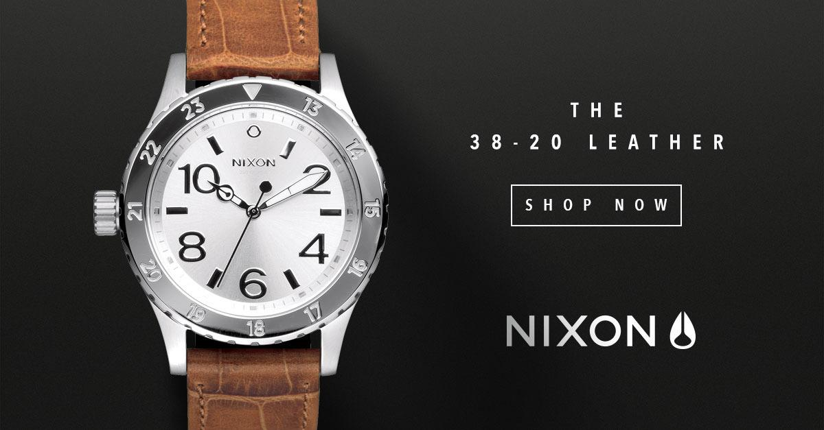 Nixon® Watches - 38-20 Leather