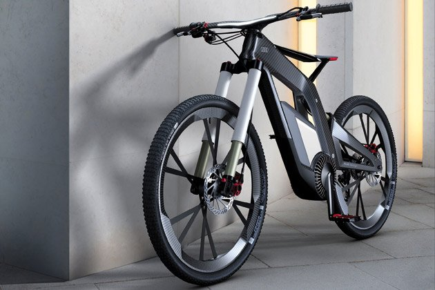 Arvind's: Audi e-bike: A bicycle that runs at 80 kmph